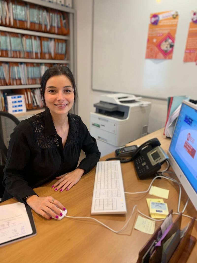 Paola Perez manager de la résidence Nice Port